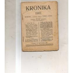 Kronika 1907 číslo 9