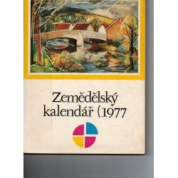 Zemědělský kalendář 1977