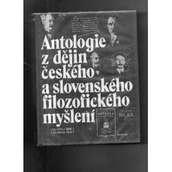 Antologie z dějin českého a...