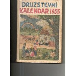 Družstevní kalendář 1956