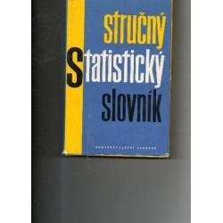 Stručný statistický slovník